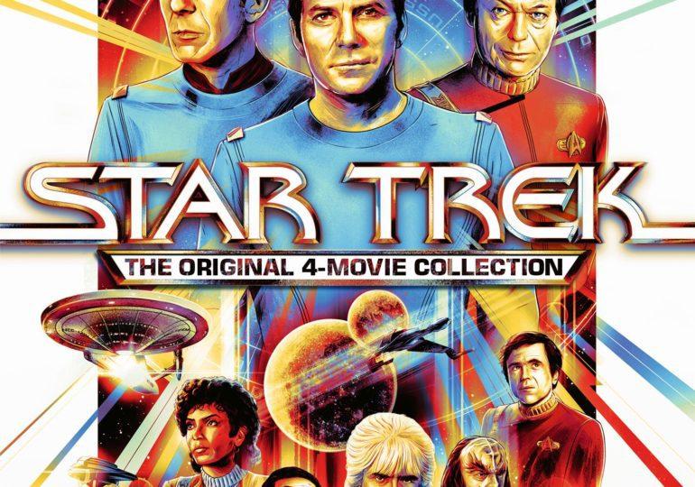 Die ersten vier STAR TREK Filme ab 9. September erstmalig in 4K erhältlich