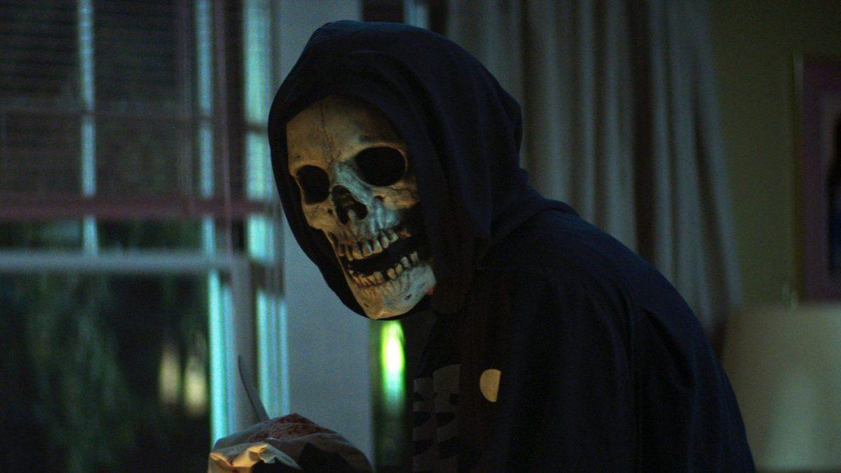 Der Killer mit dem Totenkopfgesicht in Fear Street: 1994