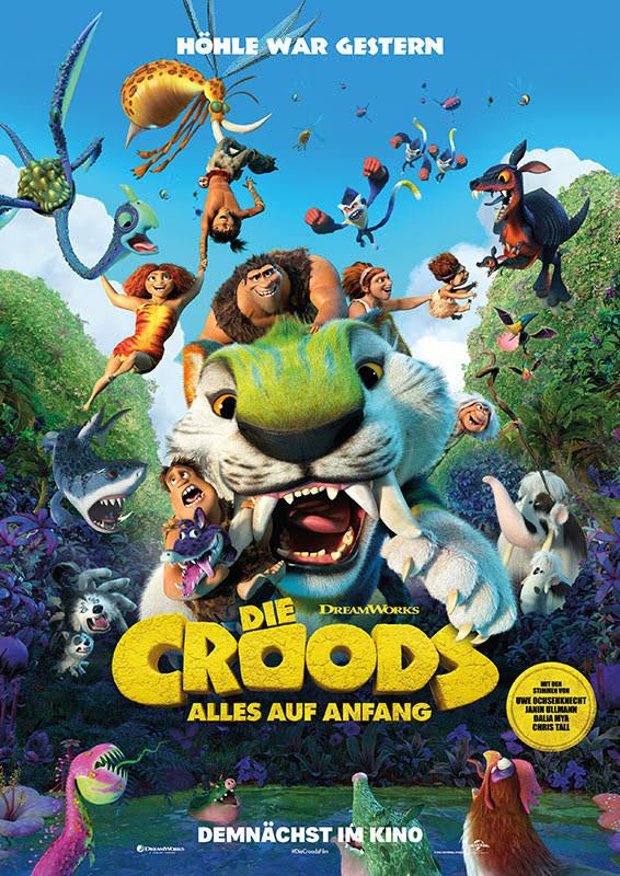Die deutschen Stimmen der Croods und Bessermanns | DIE CROODS - ALLES AUF ANFANG ab 08. Juli 2021 nur im Kino