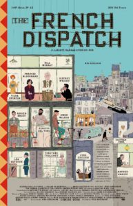 """Film Kritik """"The French Dispatch"""": Andersons Flirt mit der Welt aus Politik, Sex und Gewalt"""