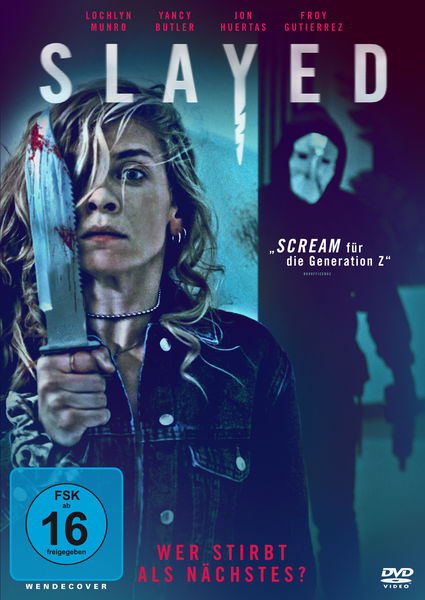 """Deutscher Trailer zu """"SLAYED – WER STIRBT ALS NÄCHSTES ?"""" Ab 27.08. auf DVD und Blu-ray"""