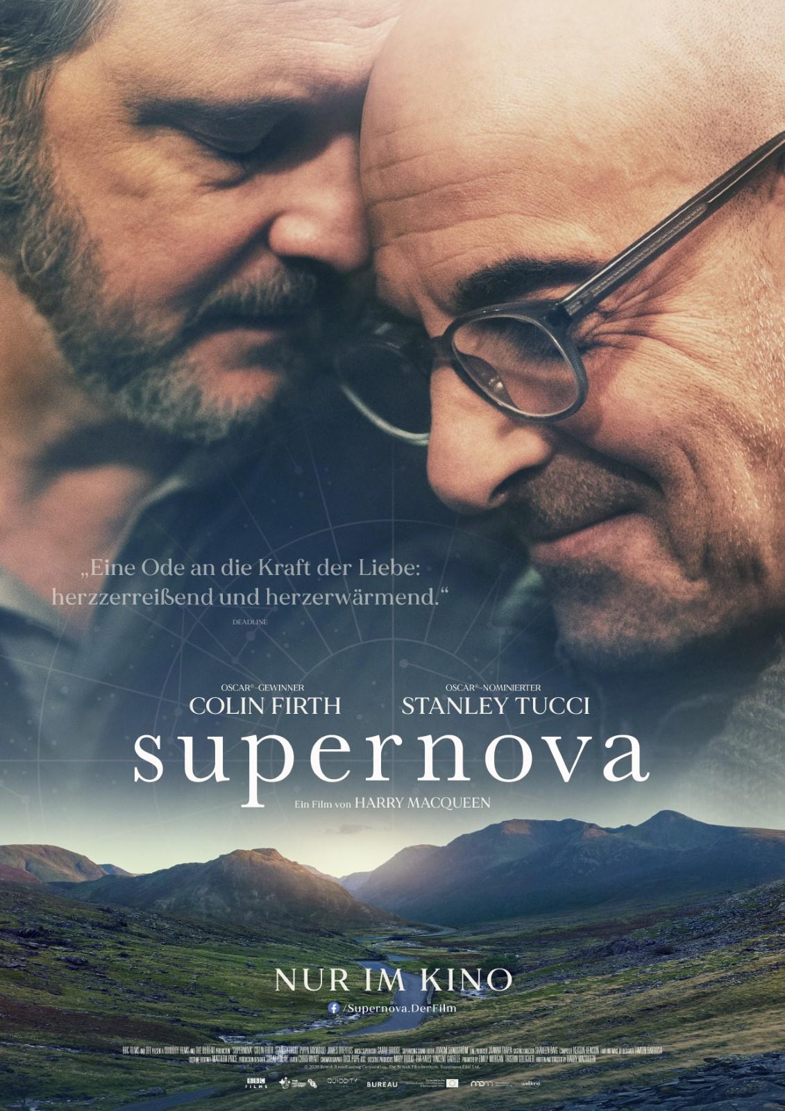 """COLIN FIRTH UND STANLEY TUCCI in """"SUPERNOVA"""""""