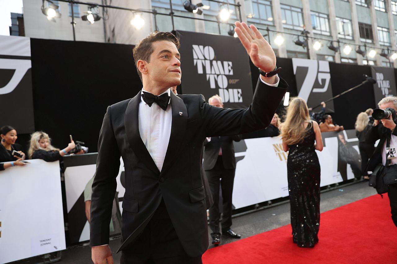 """Rami Malek besucht die Weltpremiere von """" KEINE ZEIT ZU STERBEN """""""