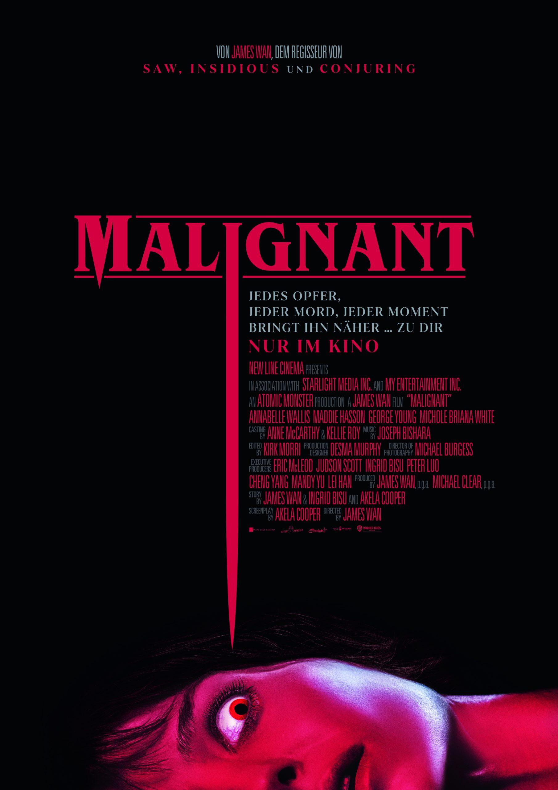 """Film Kritik: """"Malignant"""" ist ein bunter Strauß an Ideen, die nicht immer überzeugen können"""