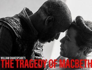 Denzel Washington und Frances McDermond auf dem Foto zum Film The Tragedy of Macbeth