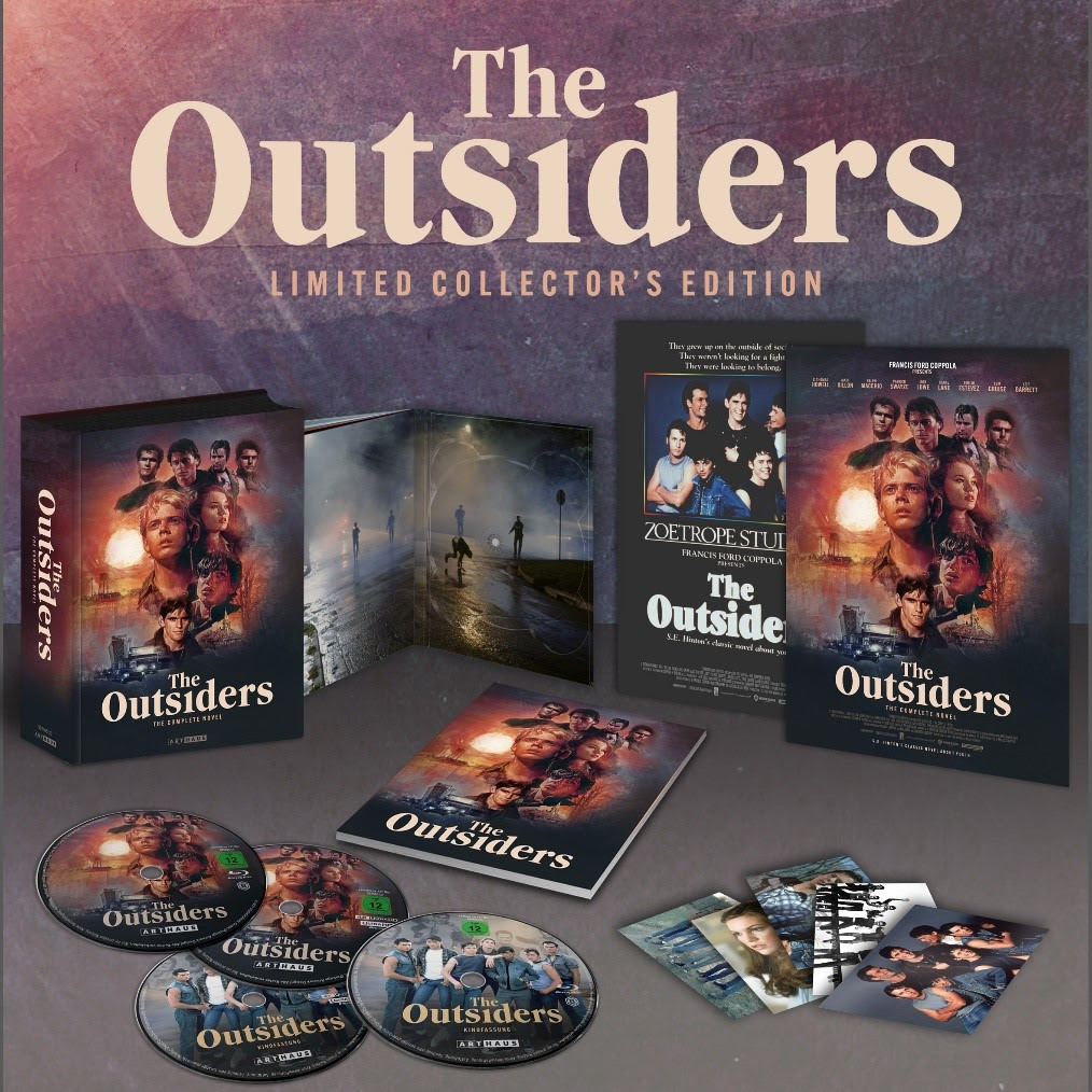 Blu ray Edition in 4k von The Outsiders