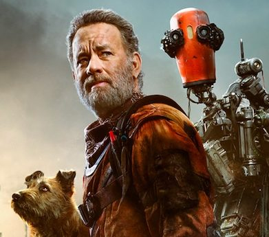 """Trailer: """"Finch"""" zeigt Tom Hanks mit einem Hund und einem Roboter"""