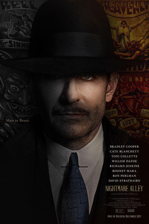 Nightmare Alley:  Der erste Trailer zum neuen Thriller von Guillermo del Toro