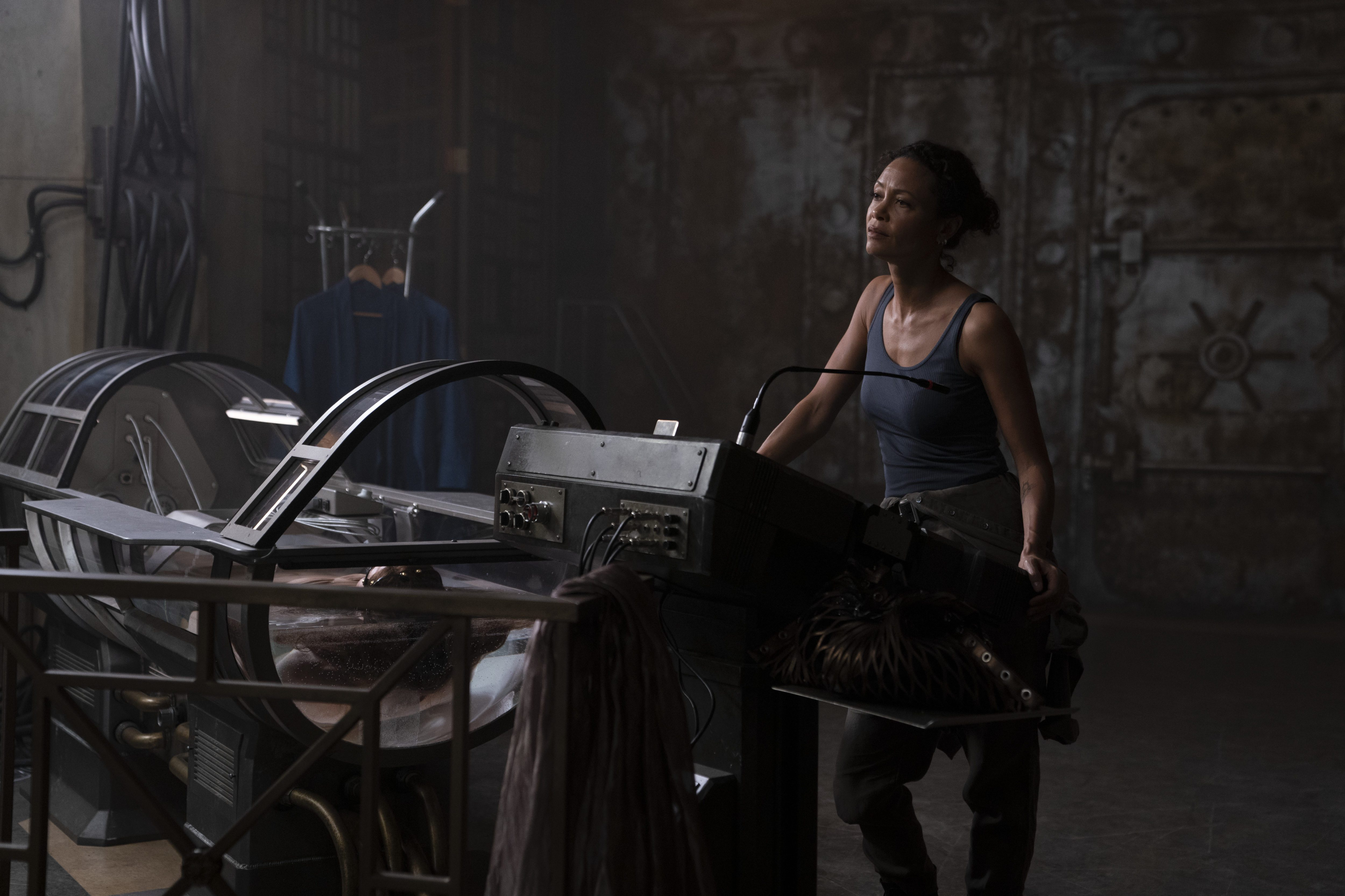 """THANDIWE NEWTON als Watts in """"REMINISCENCE """""""