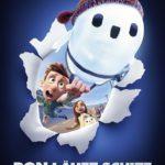 Filmposter mit einem Roboter und einem Jungen zu Ron läuft schief von Disney. Ab 28.Oktober im Kino
