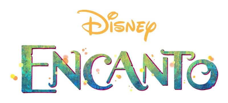 Encanto Disney Film Schriftzug