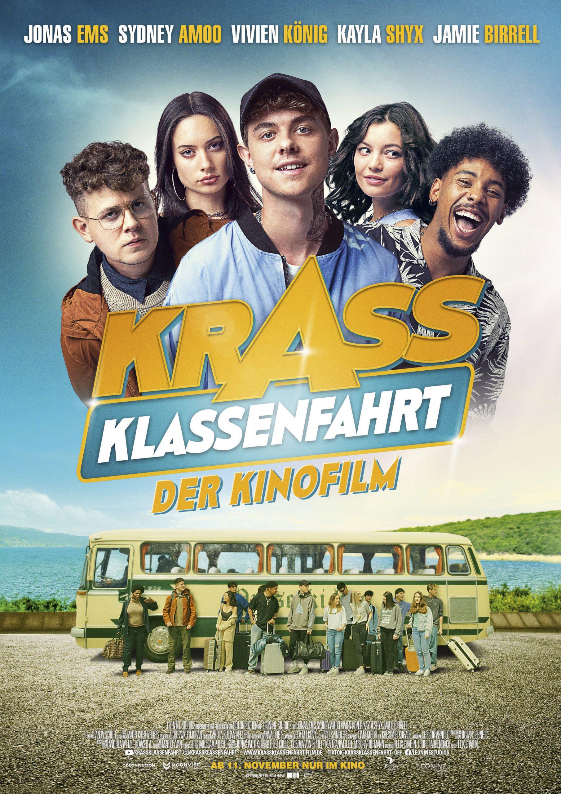 """TRAILER ZU """"KRASS KLASSENFAHRT"""" : ECO-HOSTEL, RAP UND LIEBE"""