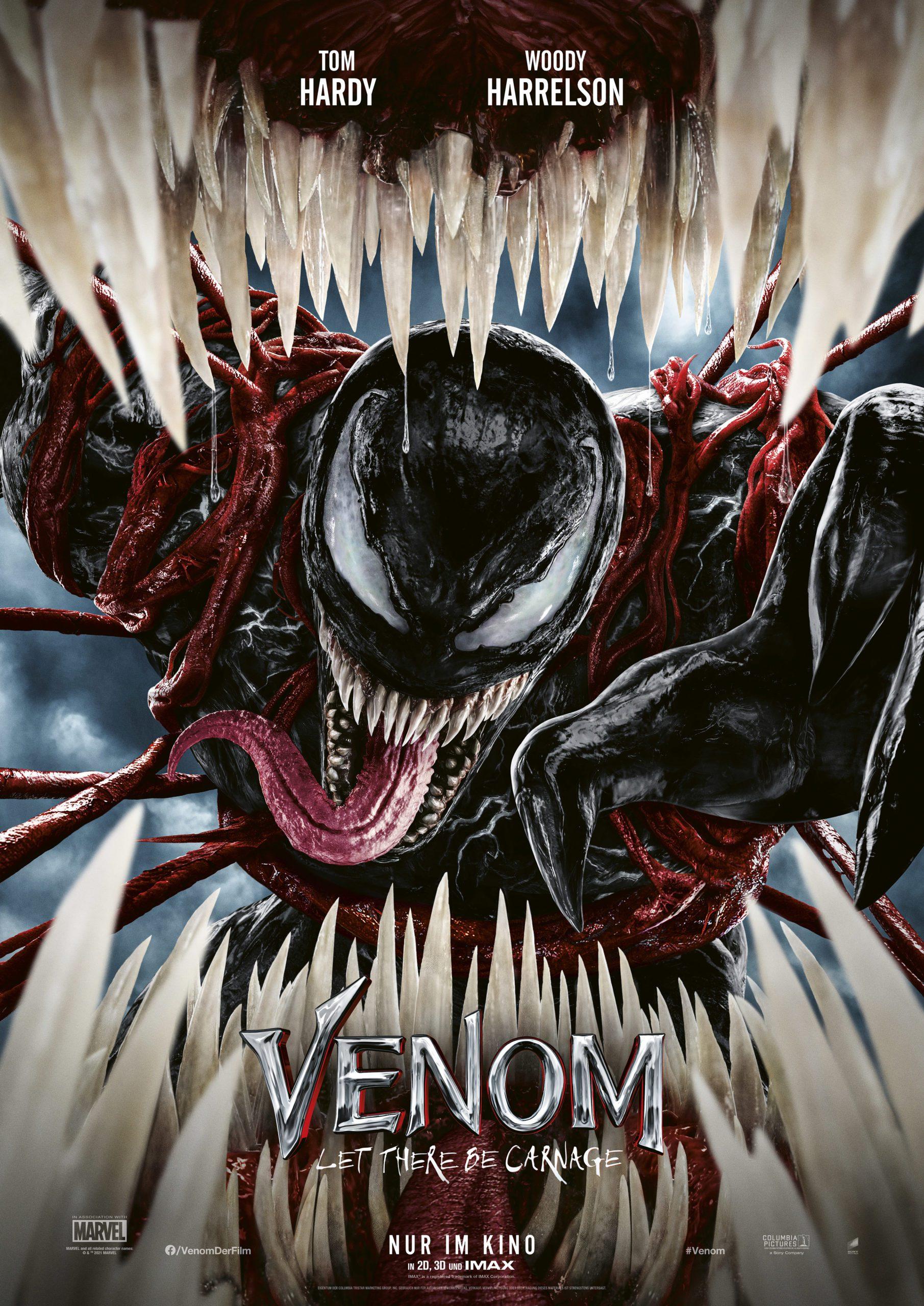 """Film Kritik: """"Venom: Let There Be Carnage"""" ist eine substanzlose Fortsetzung"""